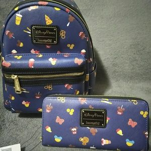 Disney Loungefly backpack & wallet